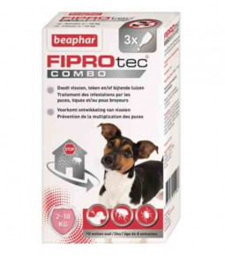 FIPROTEC COMBO PETITS CHIENS - BEAPHAR 3 PIPETTES