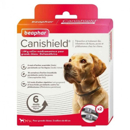 CANISHIELD  GRAND CHIENS - BEAPHAR COLLIER X2