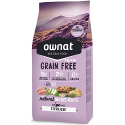 OWNAT PRIME GRAIN FREE STERILIZED