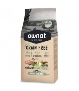 OWNAT Just Grain Free Adulte au Poulet 3kg