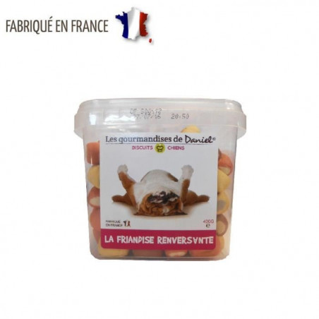 BISCUITS CHIENS GOURMANDISES DE DANIEL 400g