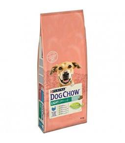 DOG CHOW LIGHT CHIEN ADULTE AVEC DINDE 14 KG