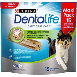 PURINA DENTALIFE STICKS CHIEN MOYEN 345g
