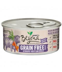 BEYOND CHAT WET Riche en Bœuf avec des carottes 85 g