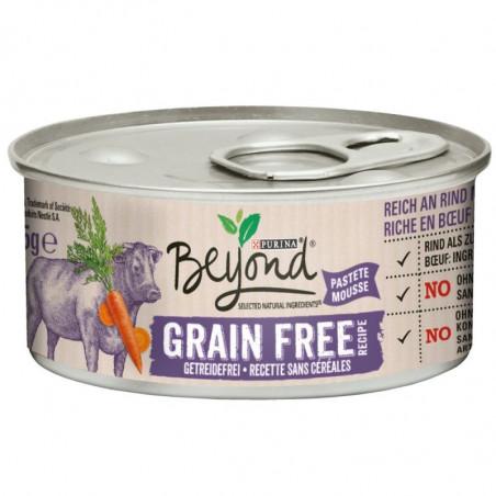 BEYOND CHAT WET Riche en Bœuf avec des carottes 12x85 g