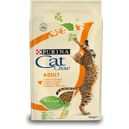 CAT CHOW ADULT riche en poulet 3 kg
