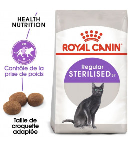 Royal Canin Sterilised 37 pour chat 4kg