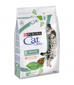 CAT CHOW SPECIAL CARE Sterilized Riche en poulet 3kg