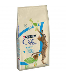 CAT CHOW ADULT riche en saumon 10kg