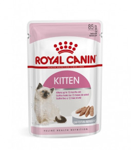 ROYAL CANIN Chaton mousse - Lot 12 x 85 g Sachet fraîcheur