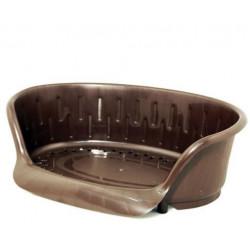 Corbeille en plastique 109X79cm couleur Marron