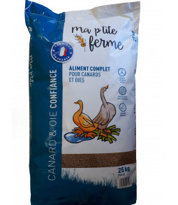 ALIMENT COMPLET CANARDS/OIES 25kg