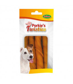 Porkie's twisties 90g  - Bubimex