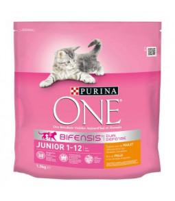 PURINA ONE  BIFENSIS  1,5 kg Junior : avec du Poulet et des Céréales Complètes