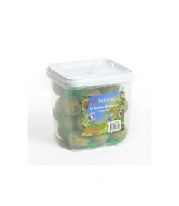 Oiseaux sauvages - 30 boules de graisse avec filet Coustenoble