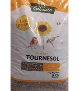 Graines de tournesol Coustenoble 4+1kg