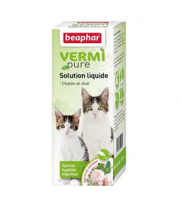 Vermipure Solution liquide 50ml - Beaphar