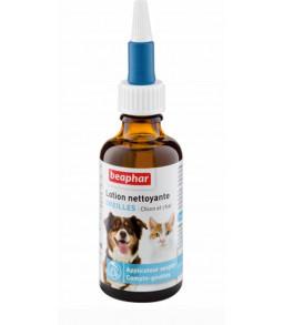 Lotion nettoyante yeux chien et chat 50ml - Beaphar