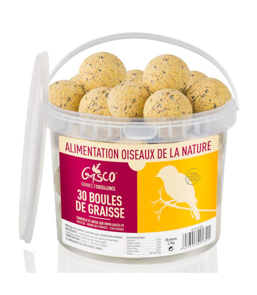 30 boules de graisse Gasco