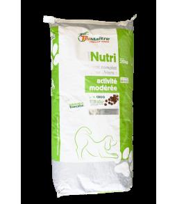 Aliment complet pour chiens activité modérée - Nutricroq 20kg