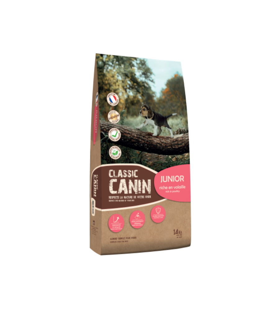 Classic Canin Junior volaille 14kg