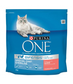 PURINA ONE STERILISE SAUMON