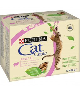 CAT CHOW Adult A l'Agneau et aux Haricots Verts
