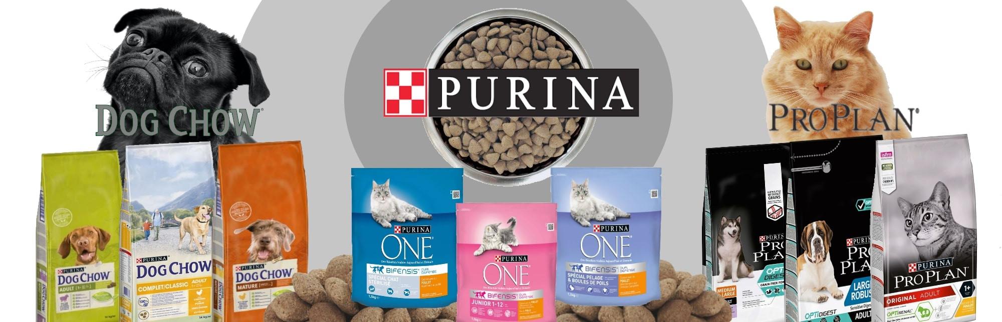Purina pour chiens et chats